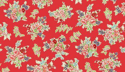 Katie Jane Fabric  by Makower #1900-T Premium Cotton