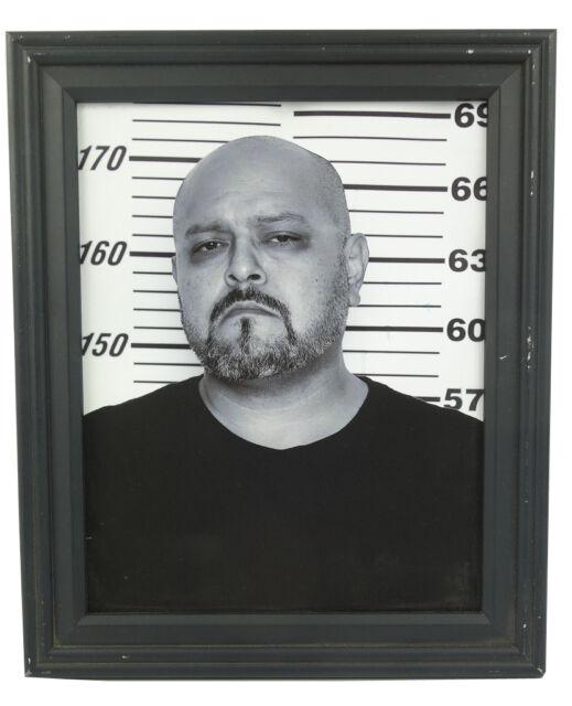 Sons Of Anarchy Screen Used Prop SGT At Arms Mug Shot Photo Arizona  Season 4