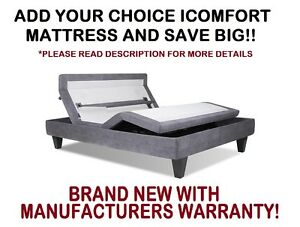 image is loading brand new serta icomfort queen motion custom ii - Serta Bed Frame