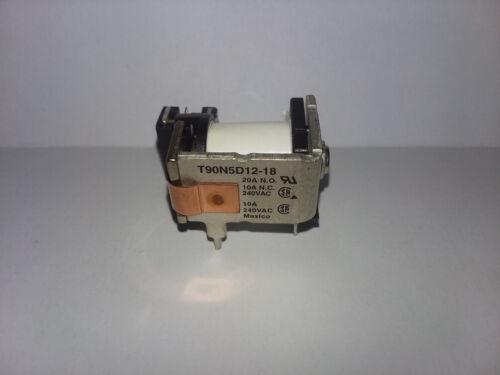 20A 18V T90N5D12-18 for GE Oven Broiler Element Relay,Potter /& Brumfield