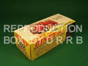 más tarde Dinky #285 Merryweather Marqués Fire Tender Caja de reproducción por drrb