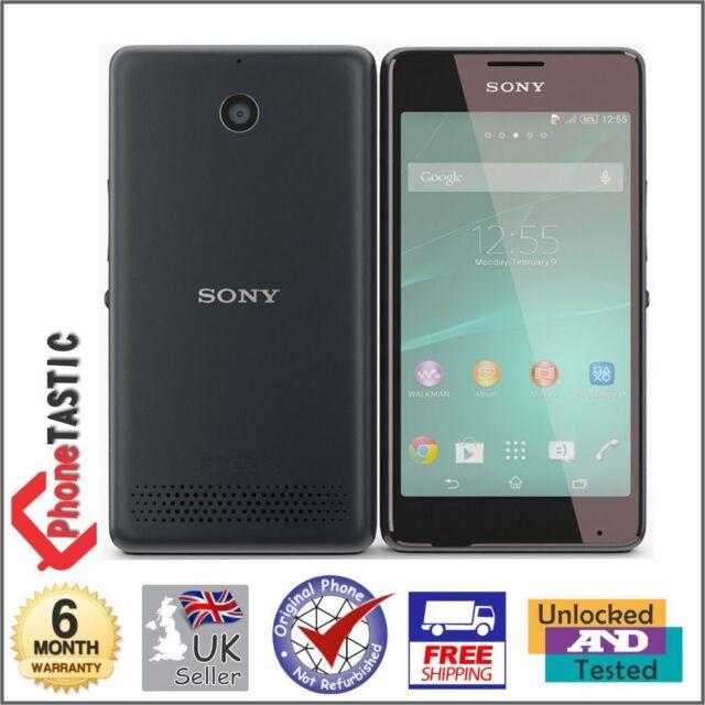 Sony Xperia E1 - 4GB - Black (Unlocked) Smartphone