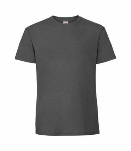 3 Or 5 Pack Fruit of the Loom Mens Premium T Shirt Top Short Sleeve Casual New