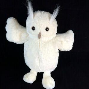 JELLYCAT-Bashful-White-Horned-Owl-Woodland-Plush-Soft-Toy-Bird-Comforter-12-inch