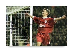 Michael-Owen-Signed-6x4-Photo-Liverpool-England-Manchester-United-Autograph-COA