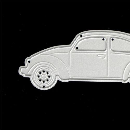Auto-Design-Metall schneiden Sterben für DIY Scrapbooking Album Papierkart SA WQ