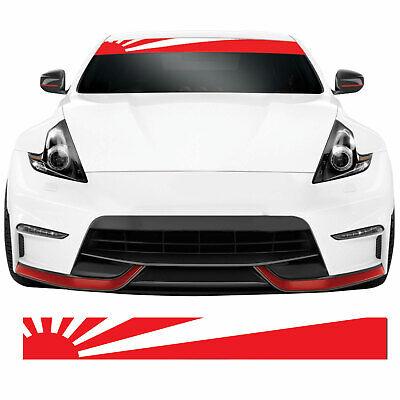 Rising Sun Flag JDM Japanese Car Windscreen Banner ...