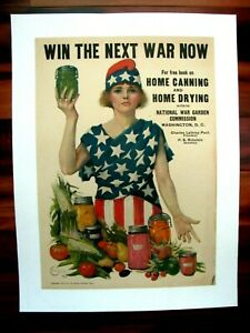 Original-WWI-War-Poster-Win-The-Next-War-Now-Leonebel-Jacobs-1918-Canning