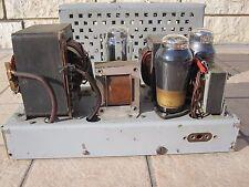 1 tube amplifier TELEFUNKEN CINEMA portable AL5 AZ12 model SEV GERMANY WW2 1940s
