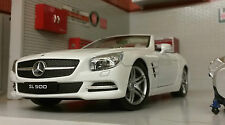 G LGB 1:24 Scala Mercedes SL500 2012 24041 Dettagliato Welly Automodello Metallo