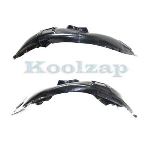 08-11 Impreza Front Splash Shield Inner Fender Liner Panel Right Passenger Side