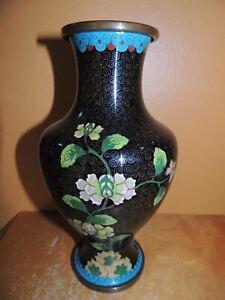 Vintage cloisonne vases