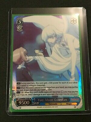 Weiss Schwarz Yue CH CCS//WX01-081 R Cardcaptor Sakura