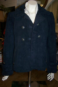 VESTE-CUIR-SUEDE-MARQUE-GUESS-TAILLE-L-USA