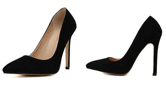 Décollte Chaussures éscarpins éscarpins éscarpins femme talon aiguille 11.5 cm talons aiguilles | à L'aise  0020e9