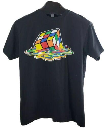 Rubix Cube Melted Cube Shirt Size Large