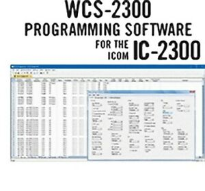 Details about RT Systems WCS-2300-U Programming Software Only for the Icom  IC-2300H