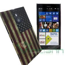 Custodia bandiera USA stati uniti americana per Nokia LUMIA 1520 cover vintage