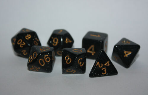 Würfel-Dice-W20,12,10,8,6,4,00-Rollenspiel-Lifecounter-glitzer-glitter-d20-Neu