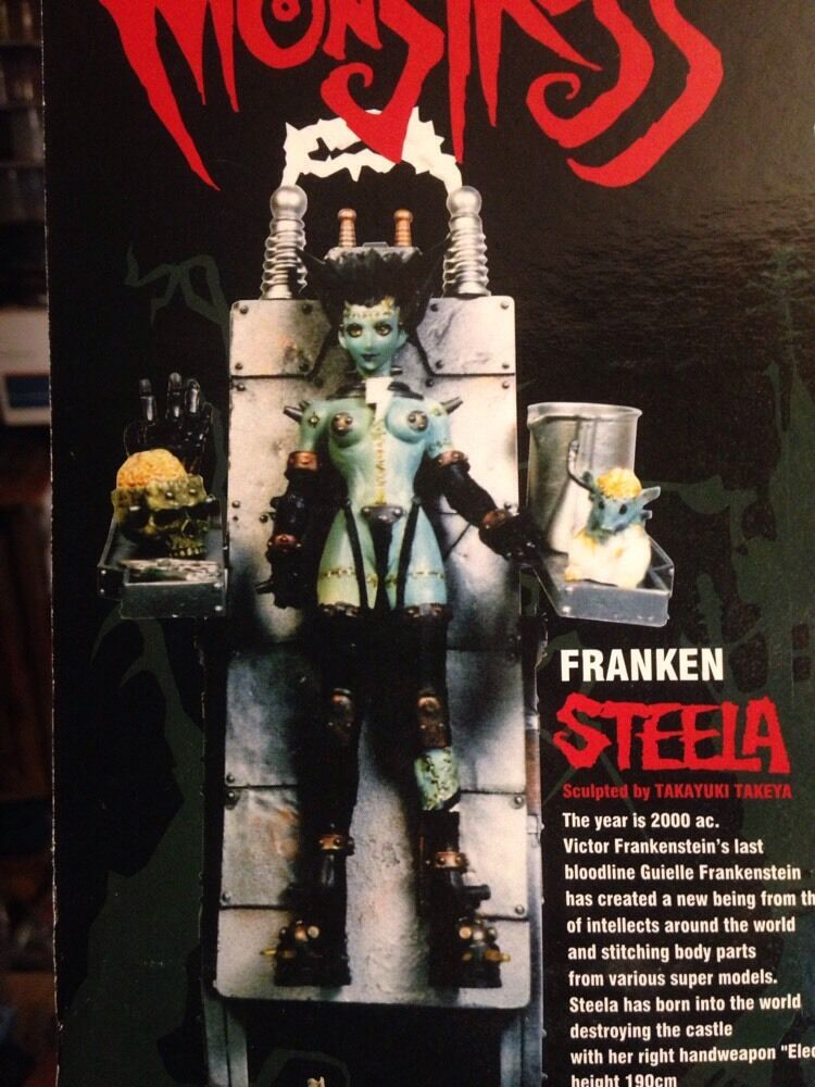Resurrection of Monstress    Franken Steela  Action Figure 4192b4
