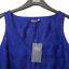 M-amp-S-BLUE-Bordado-de-Encaje-Algodon-Blusa-Top-senoras-8-Bnwt-Marks-amp-Spencer-Mujeres miniatura 6