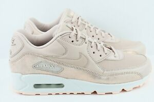 timeless design 38f13 df55f Details about Womens Nike Air Max 90 Premium PRM Size 6.5 Shoes Particle  Beige 896497 201