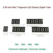 036 Inch Red 7 Segment Led Display Digital Tube Common Cathodeanode 1234bit