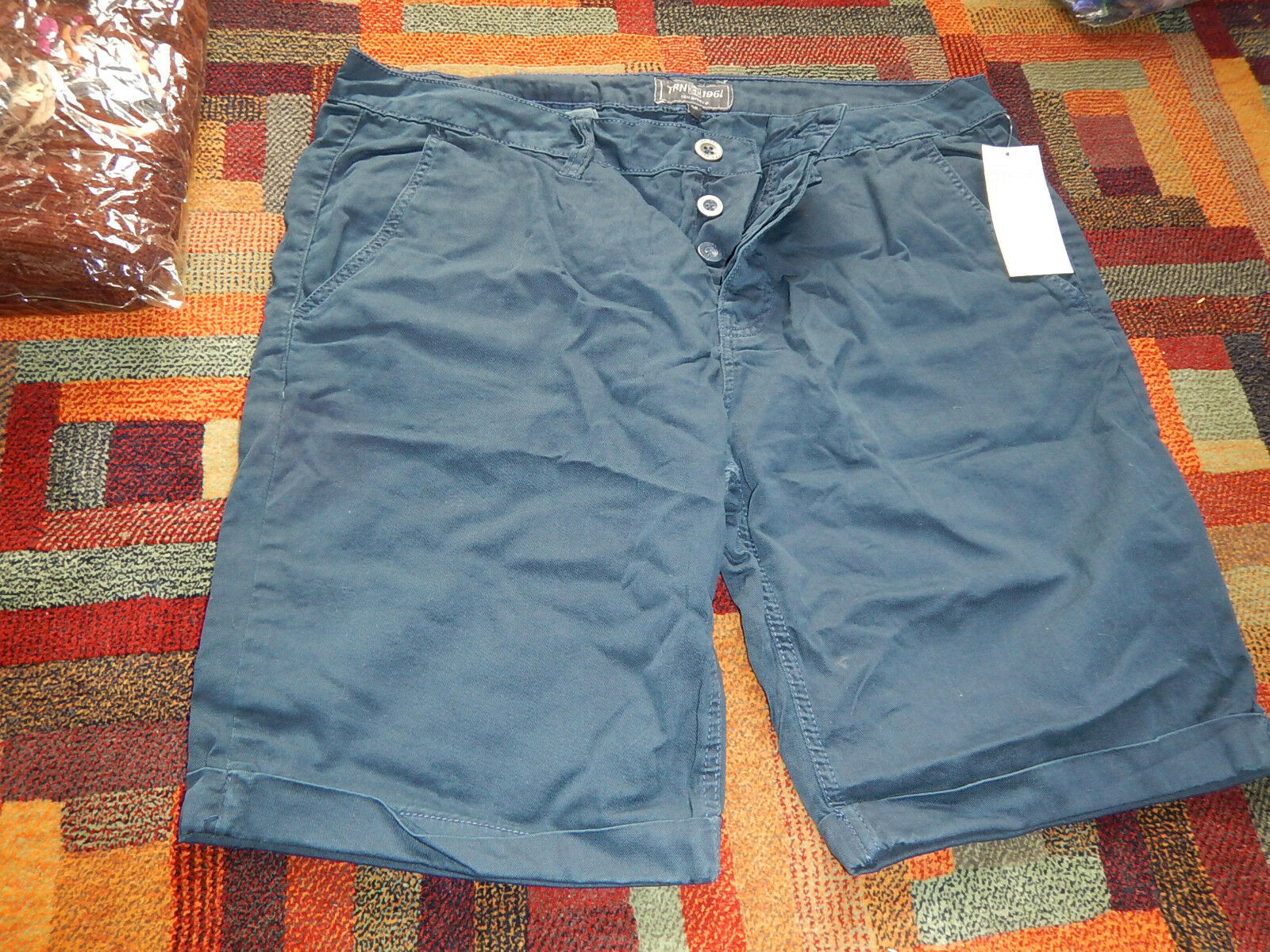 Shorts GR 52 men shorts new with tags W W W 34-36 EU 52 new with tags NAVY DARK Blau  | Günstige Bestellung