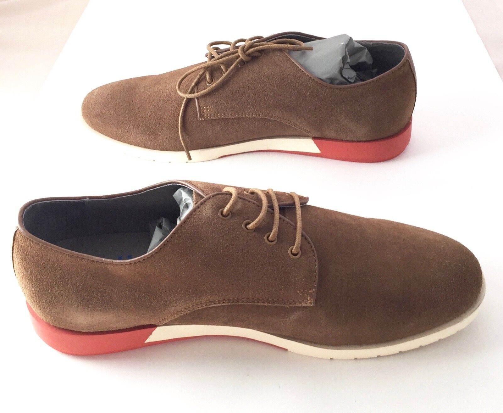 a473c3246f99 ANTHONY ANTHONY ANTHONY MILES (UK) New Mens Tan Suede shoes Size - European  43
