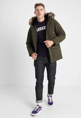 Giubbotto CARHARTT TRAPPER Parka I021869 New 255 € 2018 Jacket  Verde Cypress