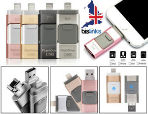 Unidad-flash-USB-memoria-de-almacenamiento-en-disco-16-32-64-128-GB-para-iPhone-x-8-7-6-6S-5-Ipad