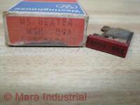 Westinghouse Msh .89a Heater Element 503c561g07