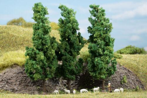 Vert foncé 3 unités Auhagen 70940 Feuillus hauteur 15 cm + NOUVEAU dans neuf dans sa boîte