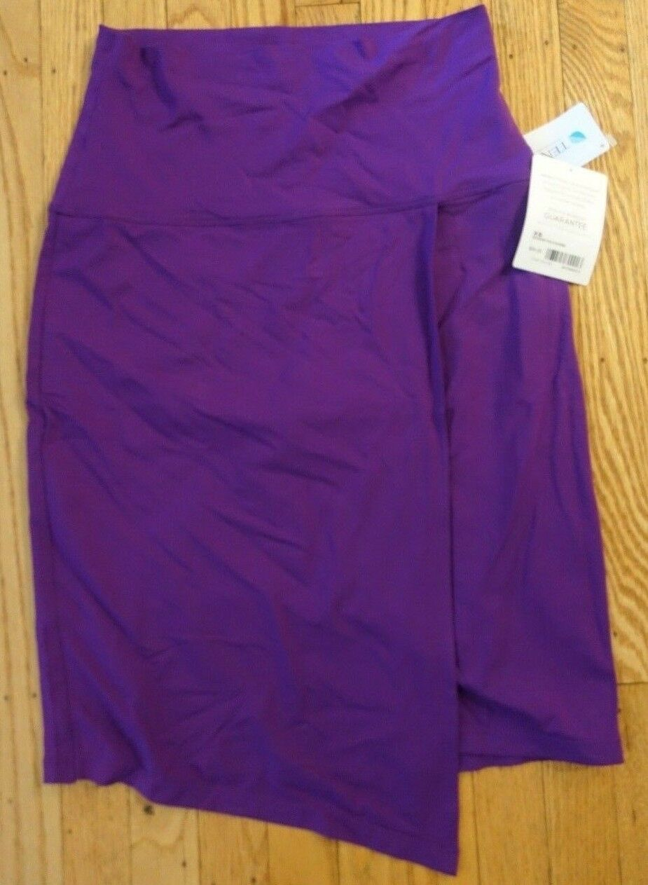 Women's Athleta Seaside Fold Over Skirt, Crushed Grapes, XS, Soft, Purple  54