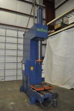 50 Ton P Amp H Hydraulic Press 36 Stroke 73 Daylight 30 X 27 Bed Sliding Bolst