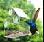 transparent-maison-Oiseau-Fenetre-Mangeoire-pour-Nourriture-amp-JARDIN-D-039-EAU