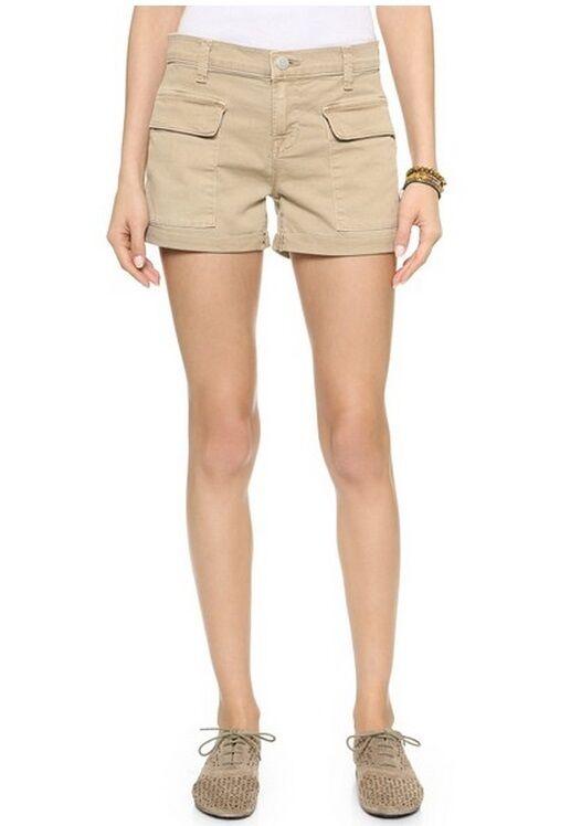 New J Brand Women's Fashion Kai Mid Rise Utility Shorts 25 26 27 28 29 30