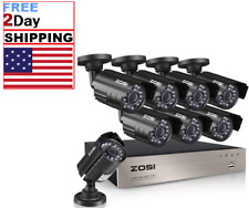 8 Camara De Seguridad Para Casas CCTV 720P Vision Nocturna Sistema Vigilancia