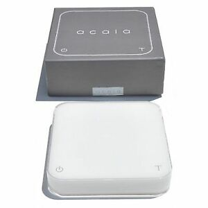 Acaia Interactive Coffee Brewing Scale-Pearl Black