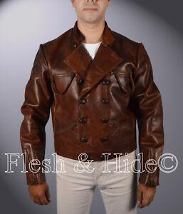 853bf1165 Details about Genuine Cowhide Leather Jason Momoa Justice League Aquaman  Arthur Curry Jacket