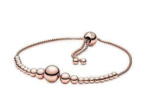 Authentic Pandora 587749  ROSE™ String Of Beads Slider Bracelet