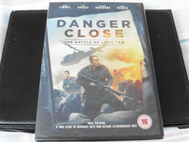 DANGER CLOSE - THE BATTLE OF LONG TAN - VIETNAM - 2019 DVD - NEW / SEALED