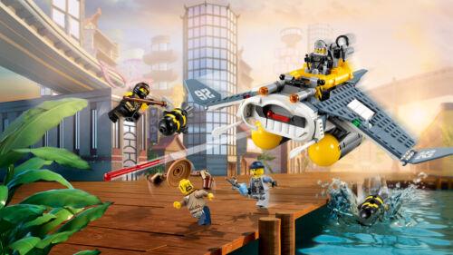 Lego Ninjago 70609 mantarrayas-aviador le bombardier raie manta n8//17