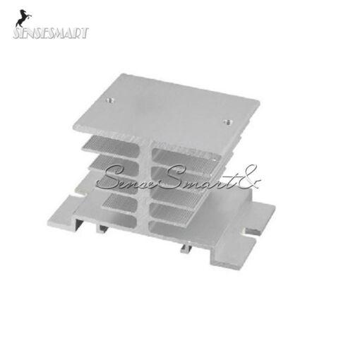 De aluminio del disipador de calor para el Relé de estado sólido SSR tipo pequeño disipación del calor 10A-40A