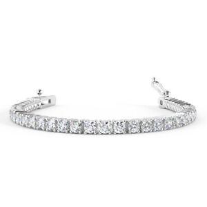 Best-offer-2ct-Claw-Set-Round-Diamond-Tennis-Bracelet-in-White-Gold