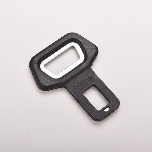 1PC Universal Car Bottle Opener Seat Belt Buckle Alarm Stopper Clip Clamp LAC rl