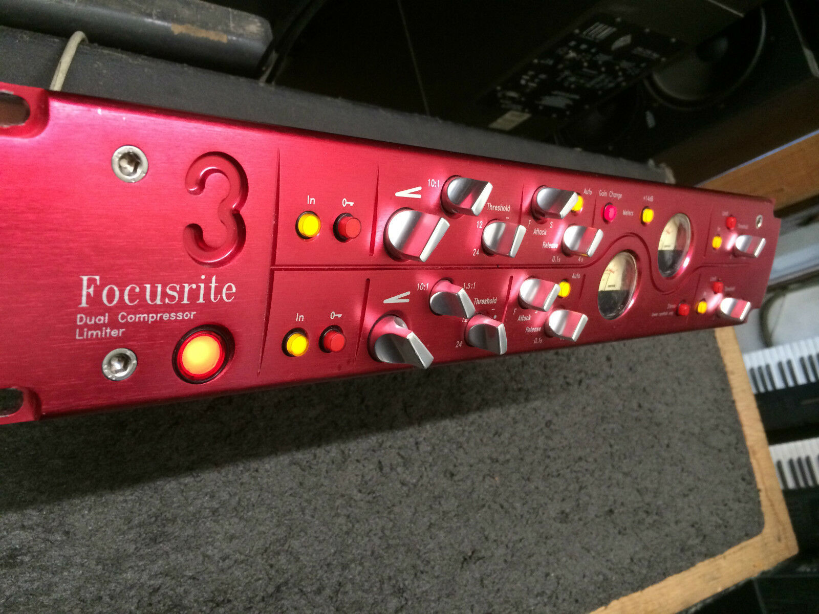 Focusrite Red 3 Dual Channel Compressor/Limiter  //ARMENS//.. Buy it now for 2899.00
