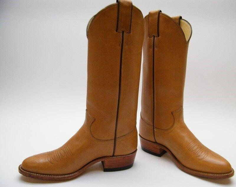 Mujeres Vintage Justin 2831 De De De Cuero Marrón Tostado botas De Vaquero Occidental 5.5  1 2 B  al precio mas bajo