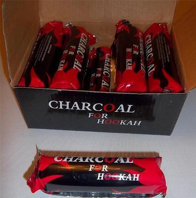 Full Box 100 CHARCOAL Coal Discs  for SHISHA hookah SMOKING PIPE 10 Packs of 10