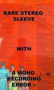 "BEATLES "" SGT PEPPER ""SUPER UK 2BOX MEGA rare MONO RECORDING ERROR STEREO SLEEVE"